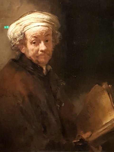 Expositie Alle Rembrandts, Zelfportret als apostel Paulus 1661