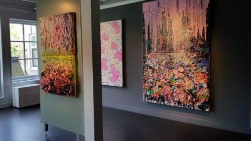 Museum de Zwarte Tulp, werken van Zhuang Hong Yi