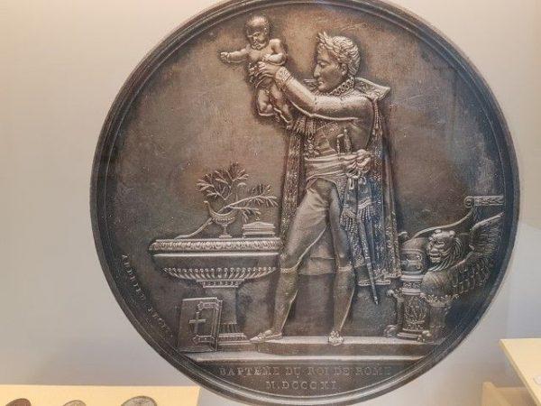 Teylers Museum, munt, vooral om financieel gewin bezocht Napoleon HaarlemVooral