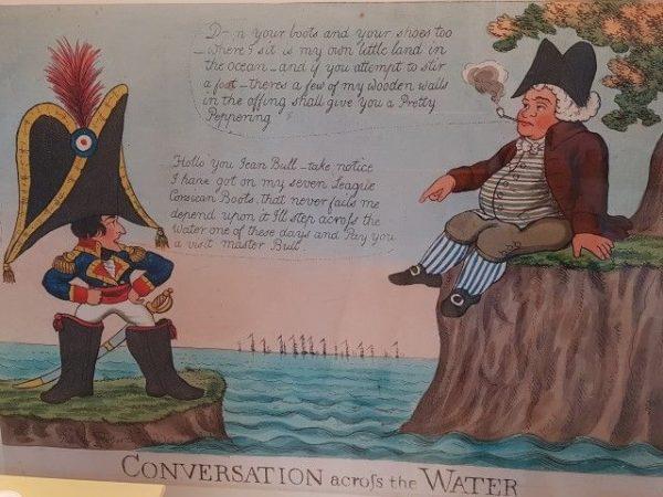 Teylers Museum: Engelse spotprent tegen Napoleon