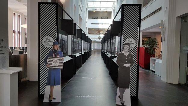 Het Amsterdams Stadsarchief houdt interessante exposities. Tot 6 oktober 2019 loopt de expositie over 100 jaar KLM