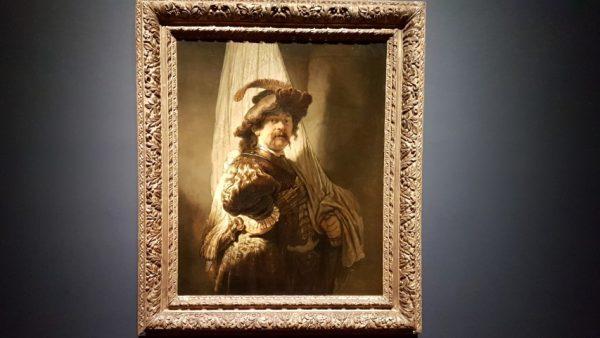 Spaanse meesters Rembrandt: de Vaandeldrager