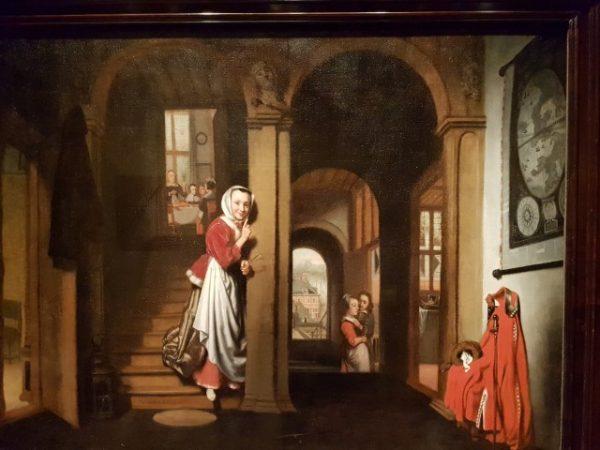Nicolaes Maes, serie Luistervinken, 1657, Dordrechts Museum, Dordrecht