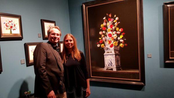 Roman en Henriëtte Reisinger, stand Naarden the Art Fair 2020