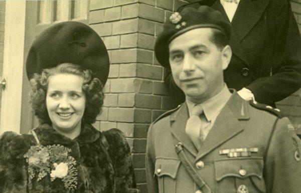 Poolse oorlogsheld Dolek Guensberg en zijn Milleke,