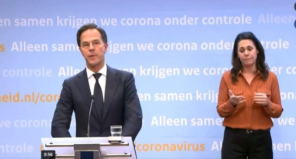 75x Nederlander van het jaar. voor  2011 ging de eer naar Marc Rutte tijdens persconferentie over coronacrisis 31 maart 2020