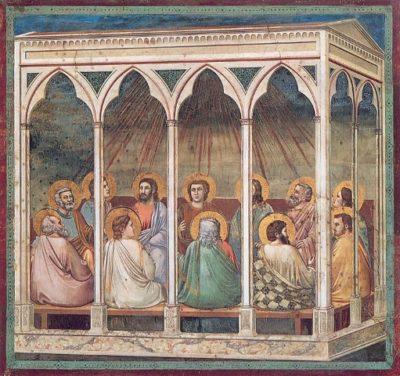Pinksteren volgens Giotto, Padua, 1304-1306