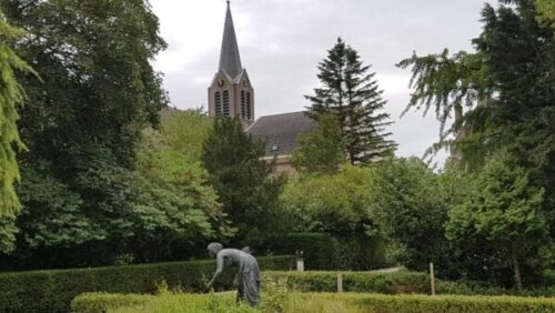 Bijbelse tuin Hoofddorp Ruth en de Joannes de Doperkerk