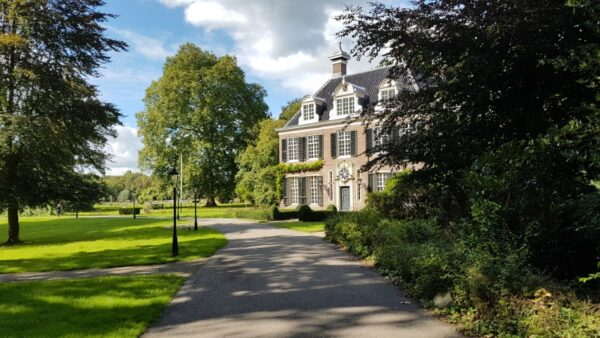Buitenplaats Doornburgh met tuin in Engelse landschapsstijl, Maarssenin