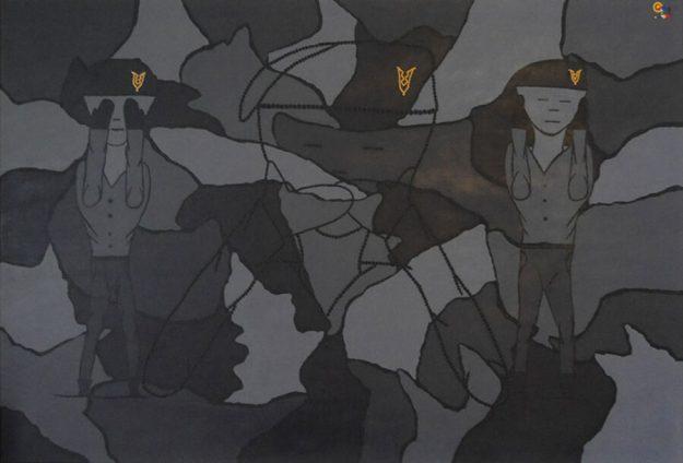 Veteranen en kunst, Amanda Jansen, zwijgen,