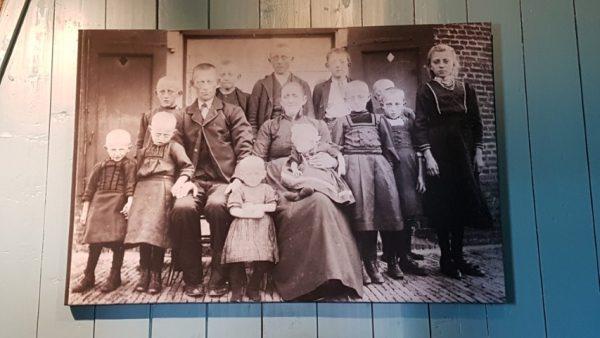De molenaarsgezinnen hadden soms wel veertien kinderen