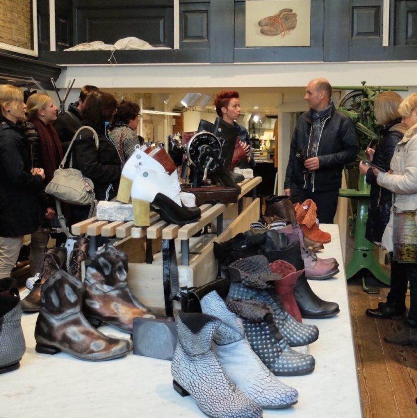 Workshop museumwinkel. Retail safari naar de Schoenenfabriek.