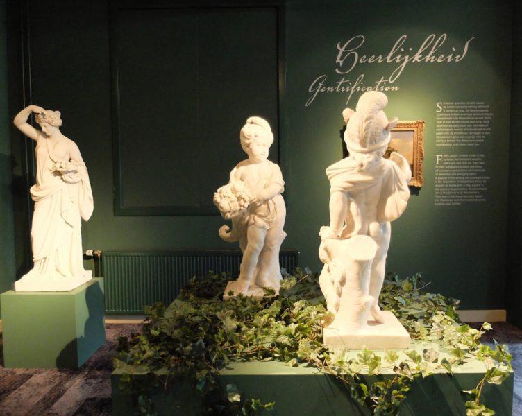 Museumwinkel The Wunderkammer in het Cromhouthuis.