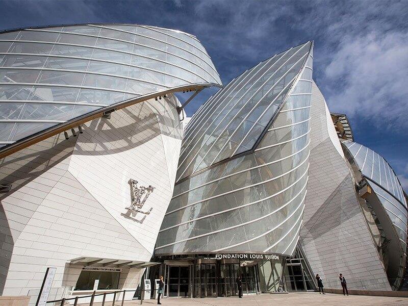 Louis Vuitton Foundation Parijs. Credits: Reprodução