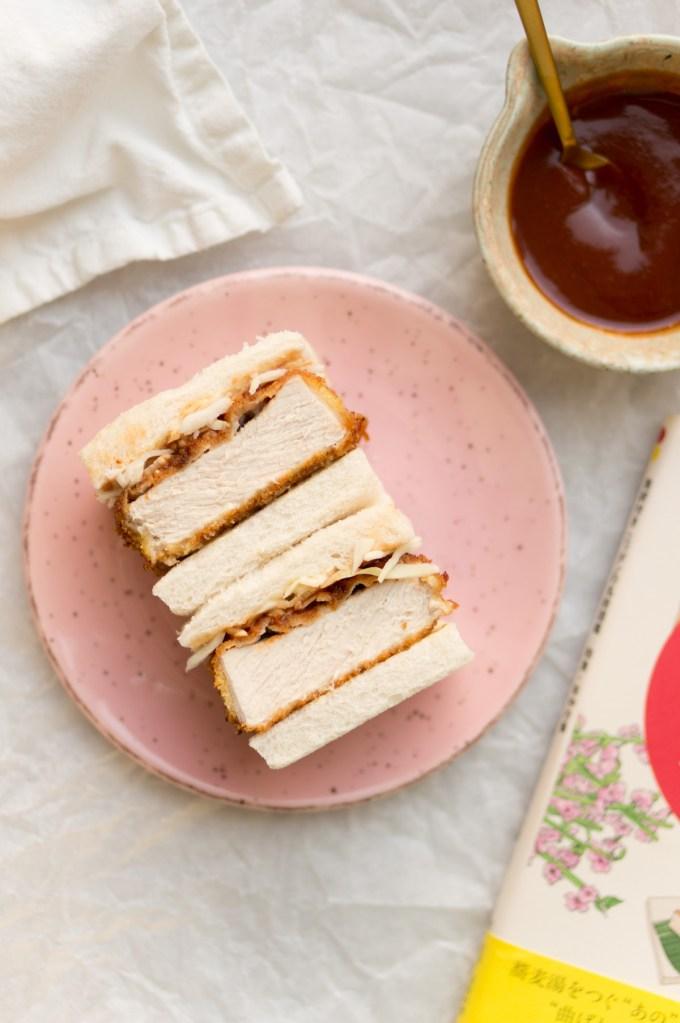 "Making Japanese katsu sandwich ""width ="" 1200 ""height ="" 1806 ""/> </figure data-recalc-dims="