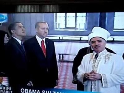 Obama Sultanahmet Cami Ziyareti