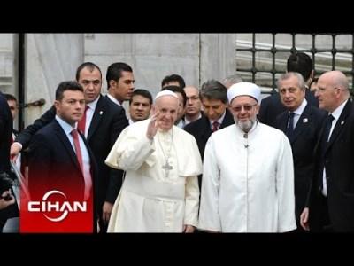 Papanın Sultanahmet Camii Ziyareti