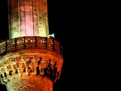Sultanahmet Camisi Akşam Çekimi