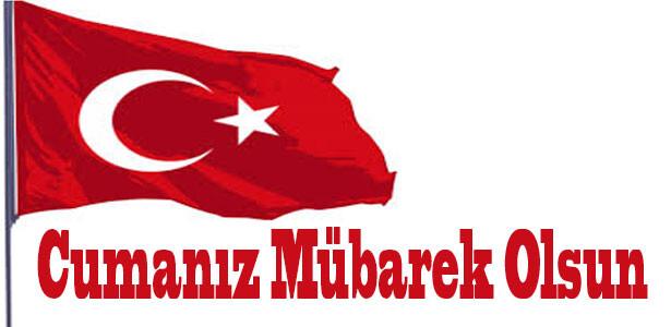 yeni türk bayraklı cuma mesajları