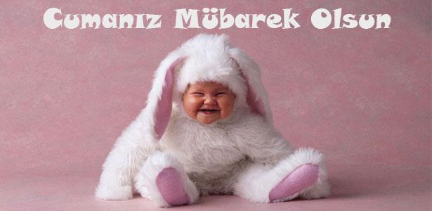 bebek resimli cuma mesajı