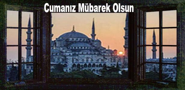 sultanahmet resimli cuma mesajları