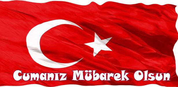 2017 güzel türk bayraklı cuma mesajları