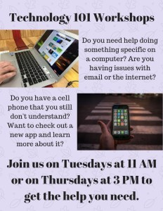 Technology 101 Workshop! @ Cumberland County Public Library