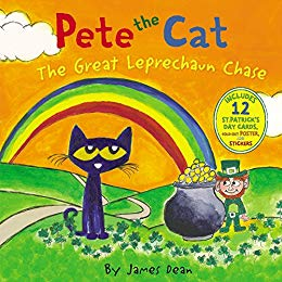 Pete the Cat: The Great Leprechaun Chase by James Dean