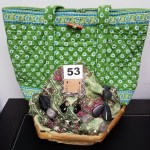 VERA BRADLEY ACCESSORIES BASKET