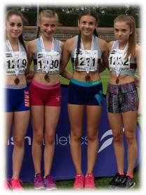 U15 Girls 4x100m 2