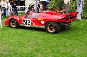 "Ferrari 512 from the film ""Le Mans"" - Chelsea Autolegends Sep 2010"