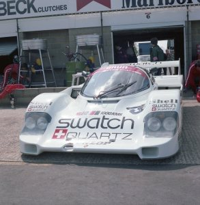 Brun Motorsport Porsche 956B 116 driven by Walter Brun and Vern Schuppan