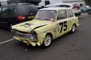 Austin A40 - after the race!