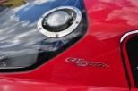 High mounted fuel filler on Bizzarrini 5300 GT Strada