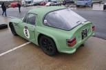 Tuscan V6 (Ford's 3 Litre Essex unit) plus standar bodywork but with Minilite wheels instead of TVR alloys