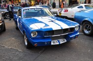 Shelby Mustang - with racing stripes