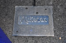 Autocar foot plate