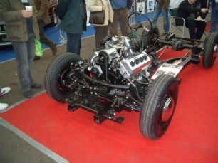 Daimler Dart Rolling Chassis