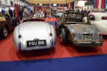 Jaguar XK120 & patinated XK150