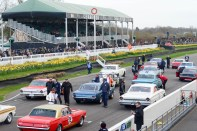 Yank tanks line up for the Pierpoint Trophy Race