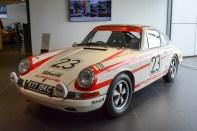Early SWB Porsche 911 race car