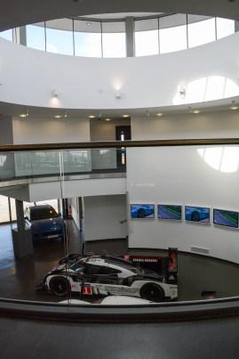 Inside the Porsche Centre
