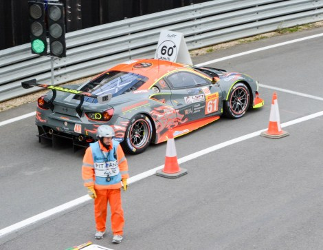 Clearwater Racing Ferrari 488 GTE