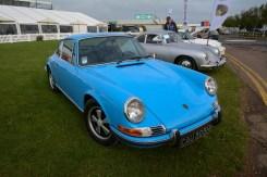 Kirk's beautiful pastel-blue 1970 2.2L 911S