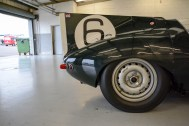 D-Type Jaguar tail fin