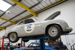 356 Pre-A raced n this year's Mille Miglia by owner Lindsay Gary and ex F1 driver John Watson