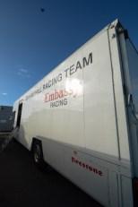 Graham His Embassy Racing Team Van