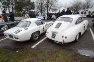 Lotus Elite and Porsche 356