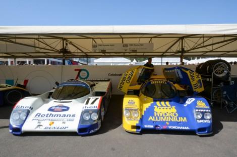 Porsche 962C 1987 & Porsche 962 1989