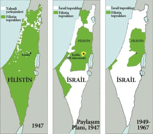 Mehmet Ali Güller : Filistinlileri vatansızlaştırma planı